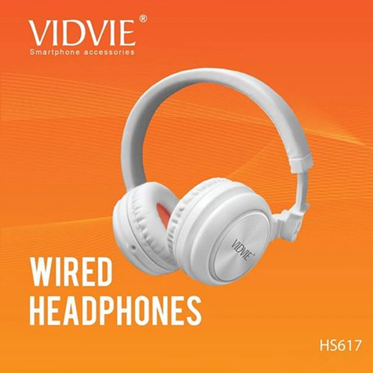 Vidvie HS617 Wired Headset - White