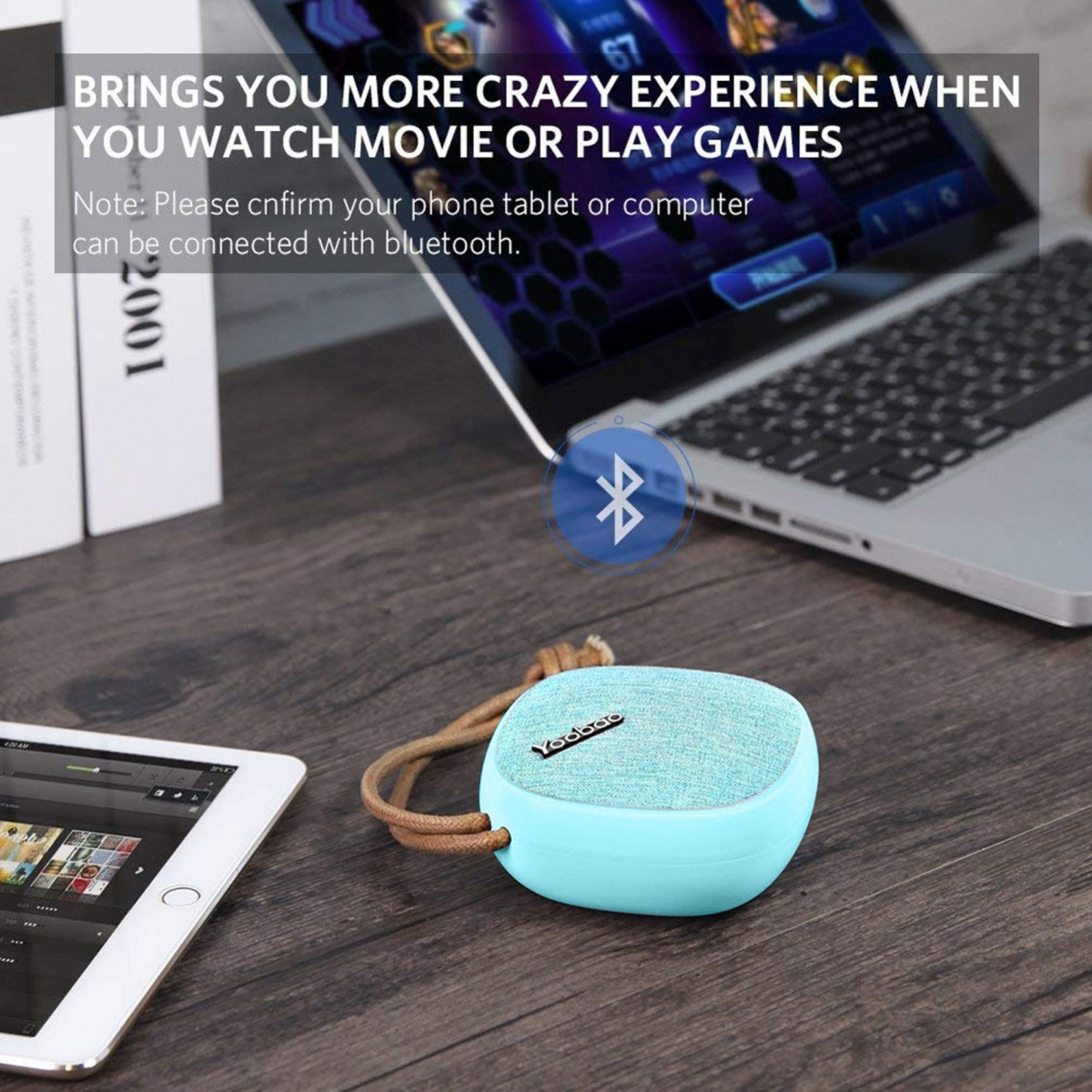 Yoobao M1 Portable Bluetooth Speaker - Blue