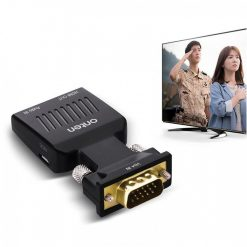 VGA to HDMI Adapter with Audio And Micro Power Supply