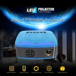 Unic U20 Mini Led Projector - Blue