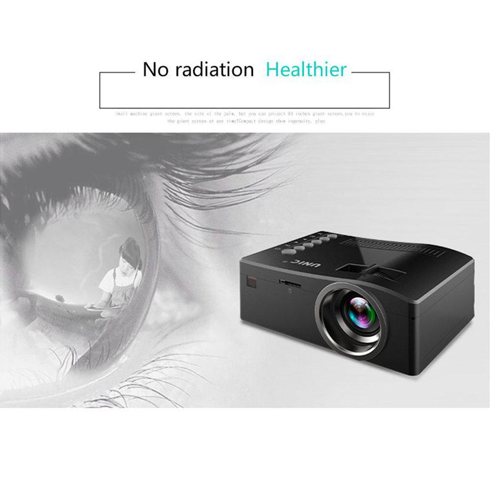 Unic UC18 Full HD LED Multimedia Projector - Black