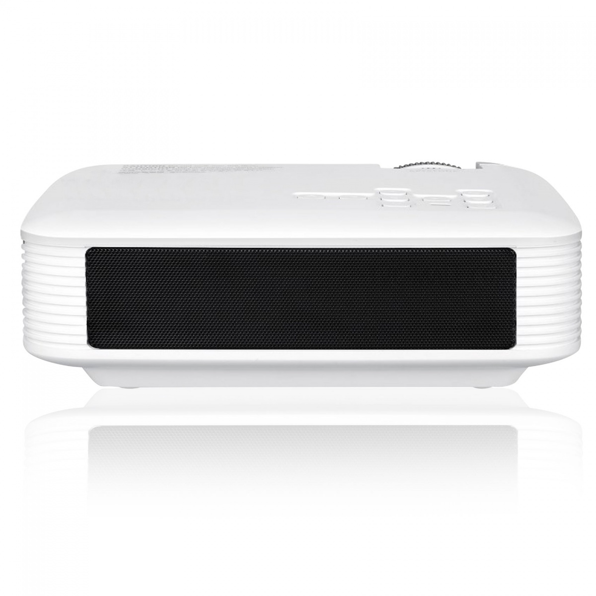 E400 1080P 1000 Lumens LED Projector - White