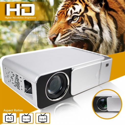 T6 HD LED Projector - White