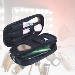 Waterproof Cosmetic Bag - Black