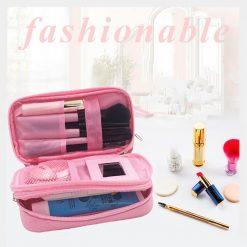 Waterproof Cosmetic Bag - Pink
