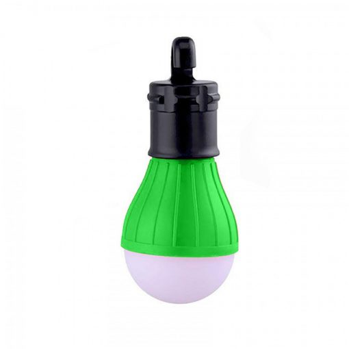 Waterproof Hanging LED Lamp Camping Tent Light Bulb - Green