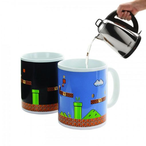 Super Mario Heat Changing Thermal Mug