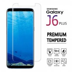 Samsung J6 Plus 2.5D Tempered Glass
