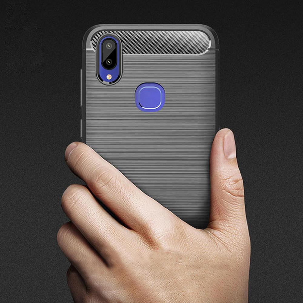 Vivo Y95 Fashion Fiber phone Case - Grey