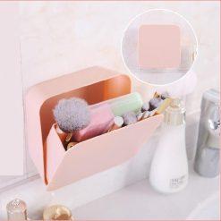 Wall Storage Organizer - Pink