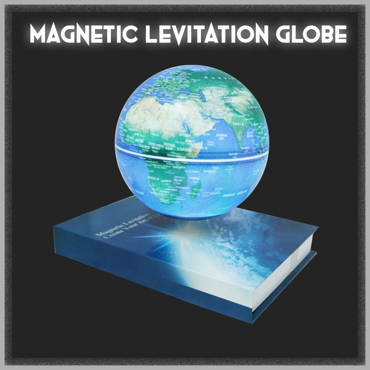 Magnetic Levitation Light Changing Globe