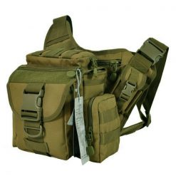 Tactical Multifunction Shoulder Body Bag - Green