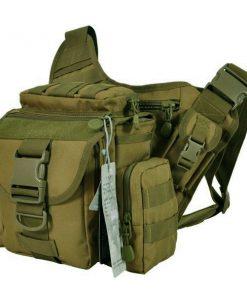Tactical Multifunction Shoulder Body Bag - Green