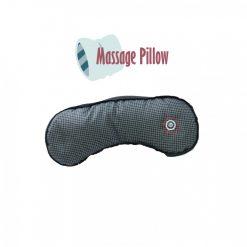 Vibrating Microbead Massage Pillow - Black