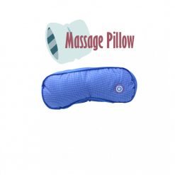 Vibrating Microbead Massage Pillow - Blue