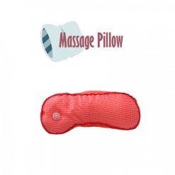 Vibrating Microbead Massage Pillow - Red