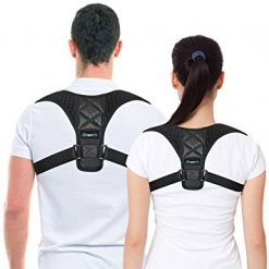 Romix RH58 Posture Corrector Support Brace Large - Black