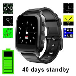 SOA SMA-2 Waterproof Smart Watch for Android and iOS - Black