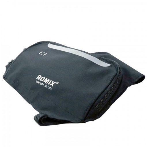 Romix Slim Cross Body Bag - Black