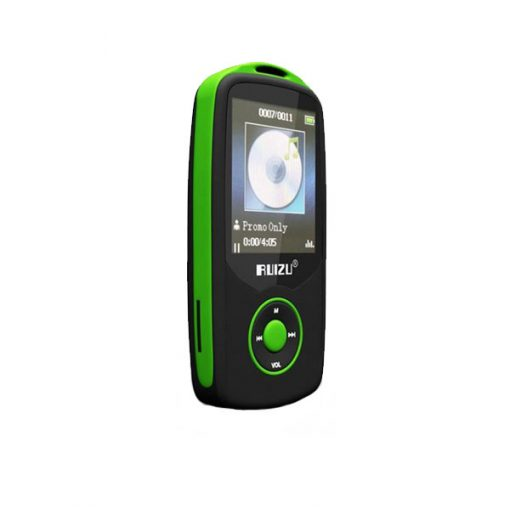 RUIZU X06 Bluetooth Sports MP3 Music Player with 4GB 1.8 Inch Screen - Green