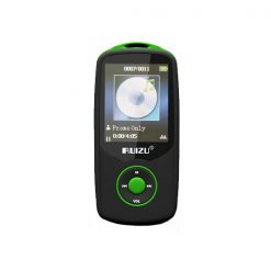 RUIZU X06 Bluetooth Sports MP3 Music Player with 4GB 1.8 Inch Screen - Green