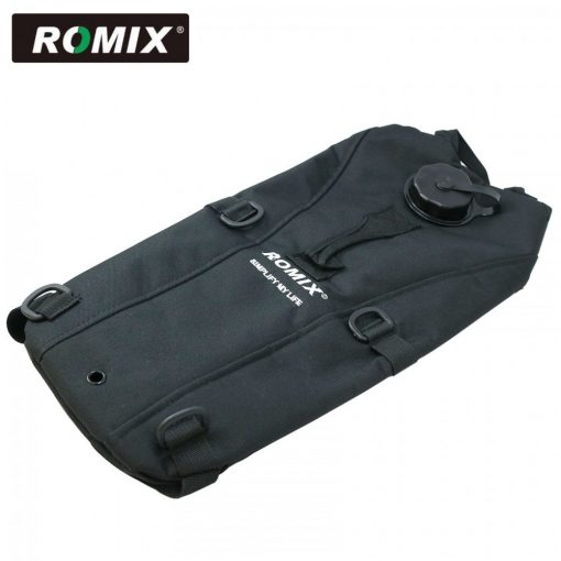 Romix Water Back Pack Bag - Black