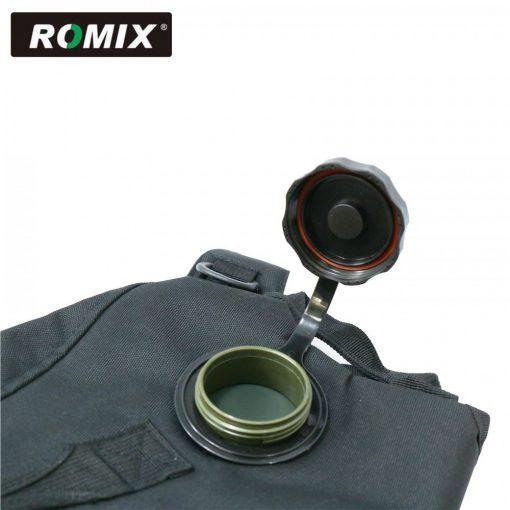 Romix Water Back Pack Bag - Black