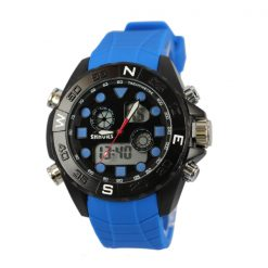 Shhors SH-0112 Men Dual Mode Sport Watch - Dark Blue