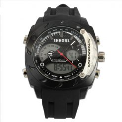 Shhors SH-0231A Men Dual Mode Digital And Analog Watch - Black