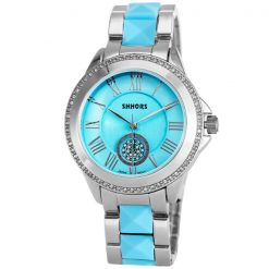 Shhors SH-A0012 Women Steel Casual Watch - Blue