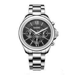 Shhors SH-A0016 Metal Casual Watch  - Black