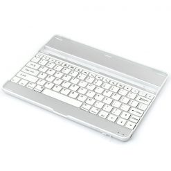 Silver iPad Aluminum Bluetooth Keyboard