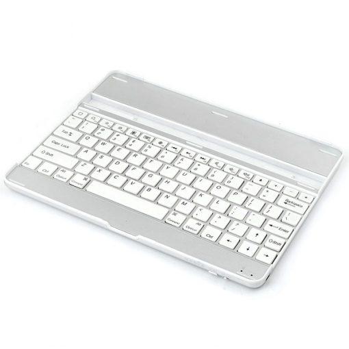 Silver iPad Aluminum Bluetooth Keyboard