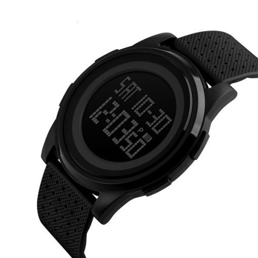 SKMEI LG1206 LED Sports Watch - Black