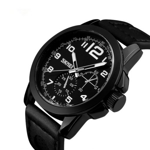 SKMEI LG9111 Casual Watch - Black