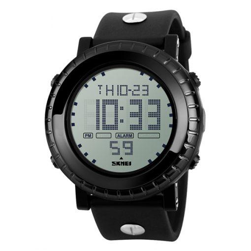 Waterproof LG1172 LED Display Sport Digital Watch - Black
