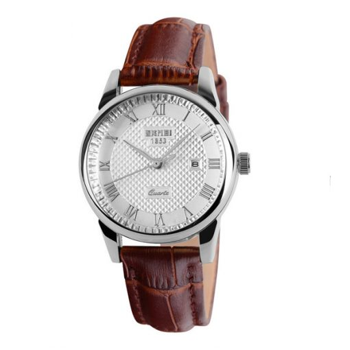 SKMEI LG9058CL Lady Casual Leather Watch – Brown