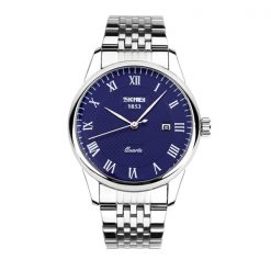 SKMEI Men Stainless Casual Watch - Blue