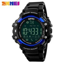 SKMEI DG1227 50m Waterproof Sports Bluetooth Watch - Blue