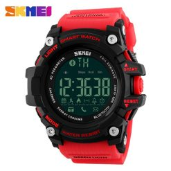 SKMEI DG1227 50m Waterproof Sports Bluetooth Watch - Red