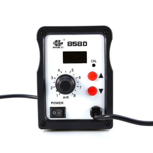 SMD Hot Air Desolder Station LED Digital - Black
