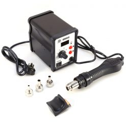 SMD Hot Air Desolder Station LED Digital - Black