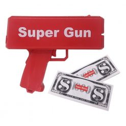 Supreme Cash Ejector Money Spray Launcher - RED