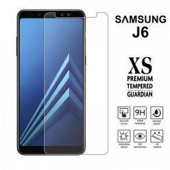 Samsung J6 2.5D Tempered Glass