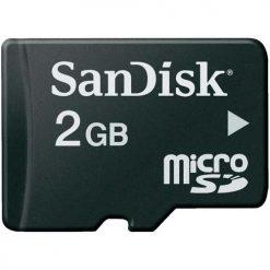 SanDisk 2GB Micro SD Memory Card