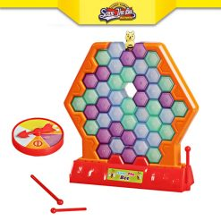 Save the Bee Block Funny Game - Red