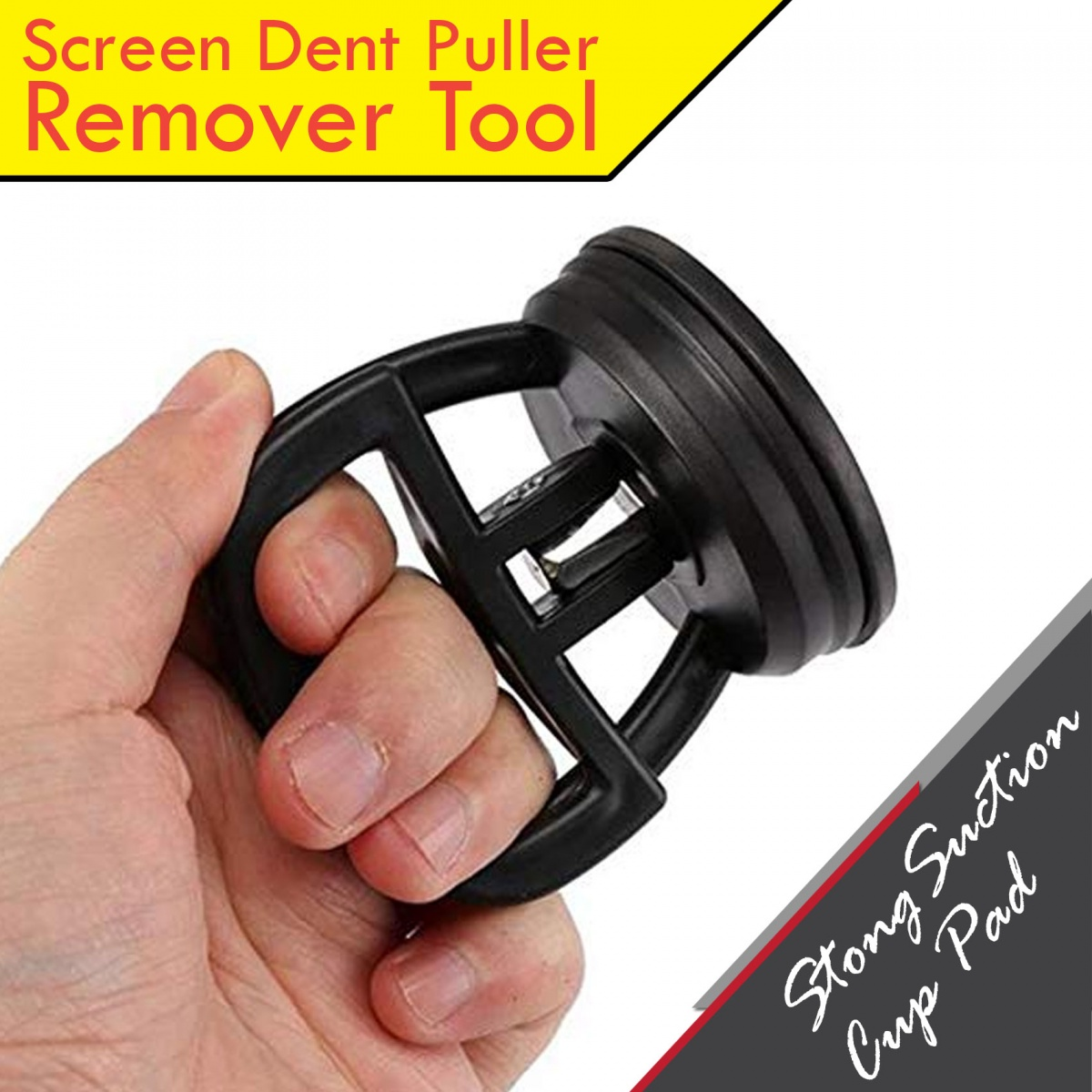 Screen Car Dent Puller Remover Tool - Black