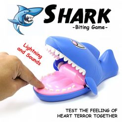 Shark Bitting - Blue