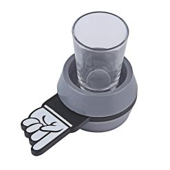 Spin the Shot Glass Drinking Game - Gray