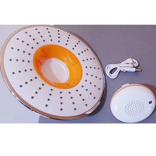 Shower Head With Detachable Bluetooth Speaker